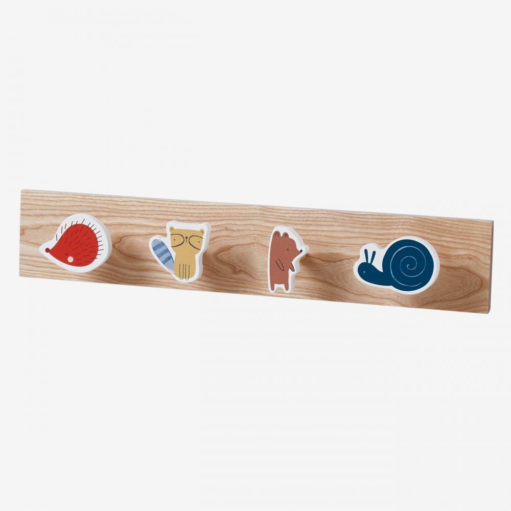 Coat Rack, Ours des Bois orange dark solid