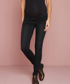 "Maternity Slim Stretch Jeans - Inside Leg 30"" blue dark wasched"