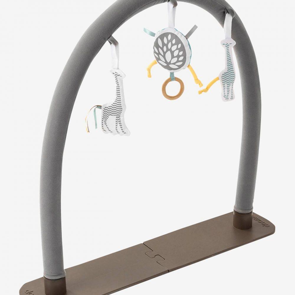 Universal Activity Arch by BABYMOOV beige dark solid with design