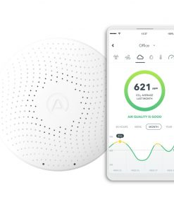 Airthings Wave Plus-Smart Air Quality and Radon Monitor