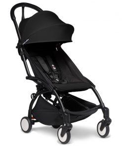 BABYZEN YOYO 2 Black Frame 6+ Stroller-Black (NEW)