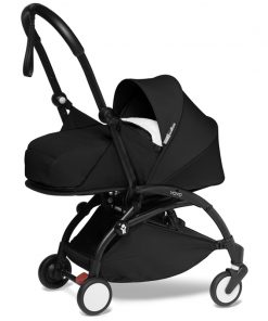 BABYZEN YOYO 2 Black Frame Newborn Package-Sherpa Black (New)