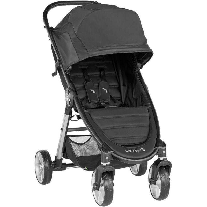 Baby Jogger City Mini 2 Single 4 Wheel Stroller-Jet