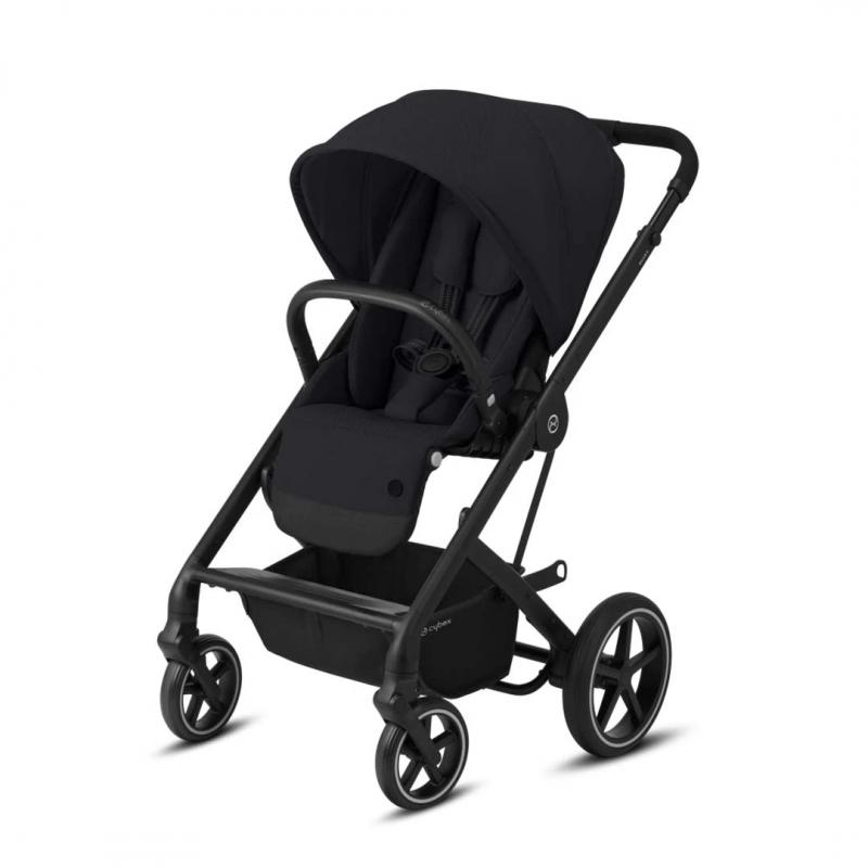 Balios S Lux Stroller-Deep Black/Black (New 2020)