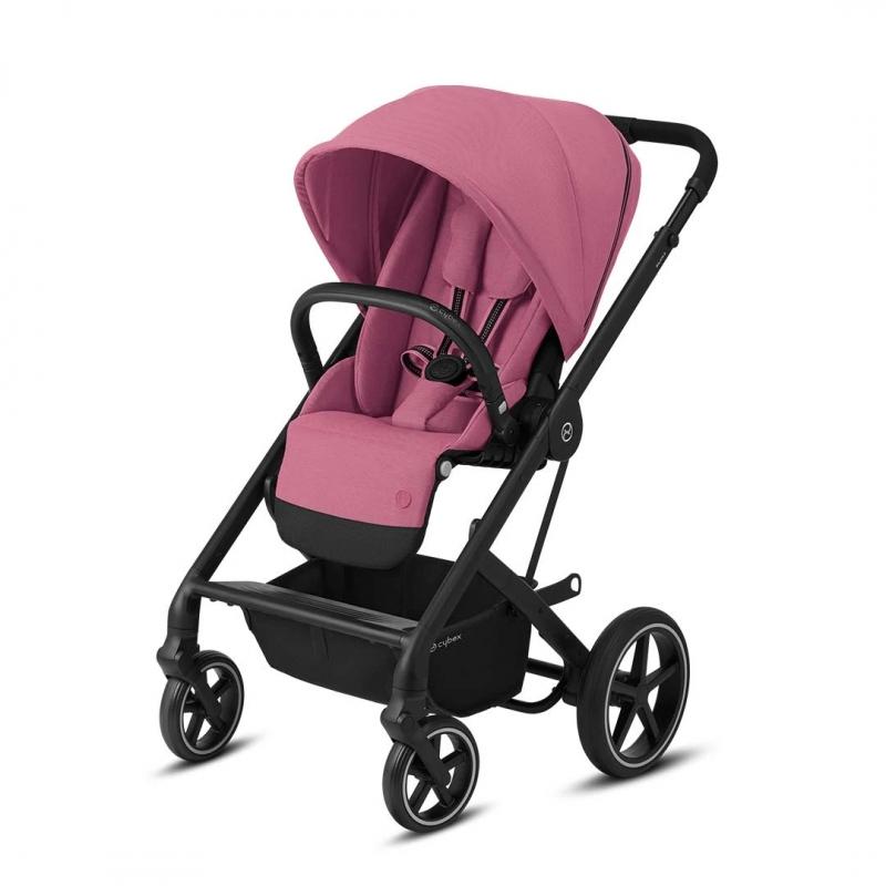 Balios S Lux Stroller-Magnolia Pink/Black (New 2020)