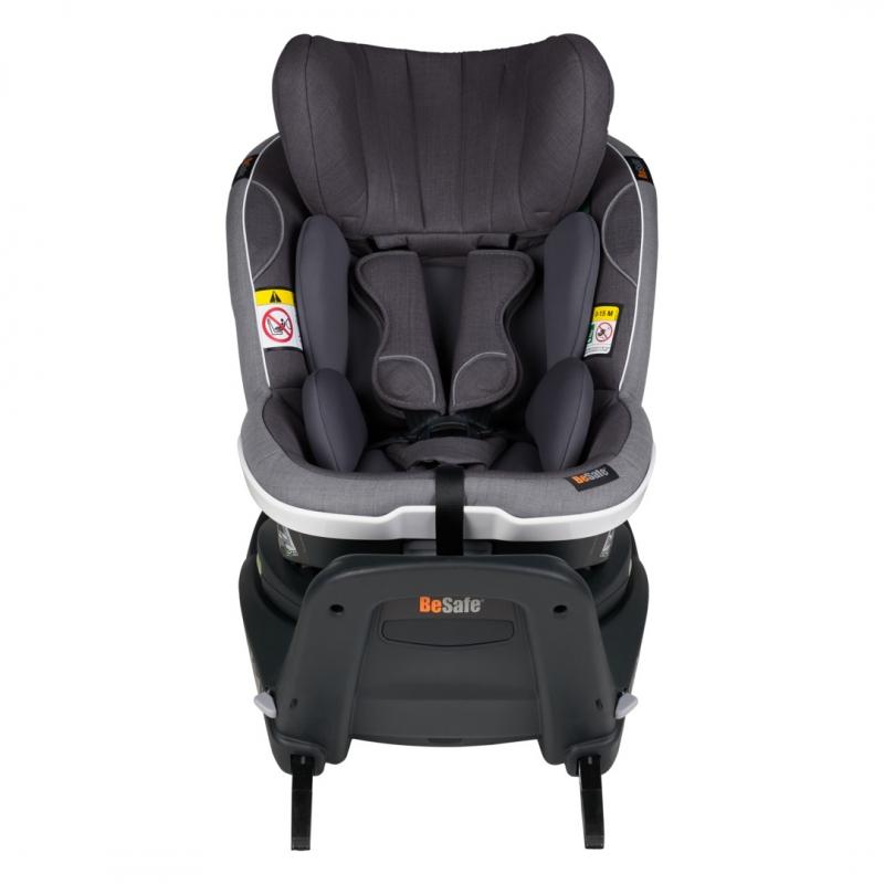 BeSafe iZi Turn i-Size Car Seat- Metallic Melange