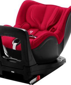Britax Dualfix I-Size Group 0+/1 Car Seat-Fire Red