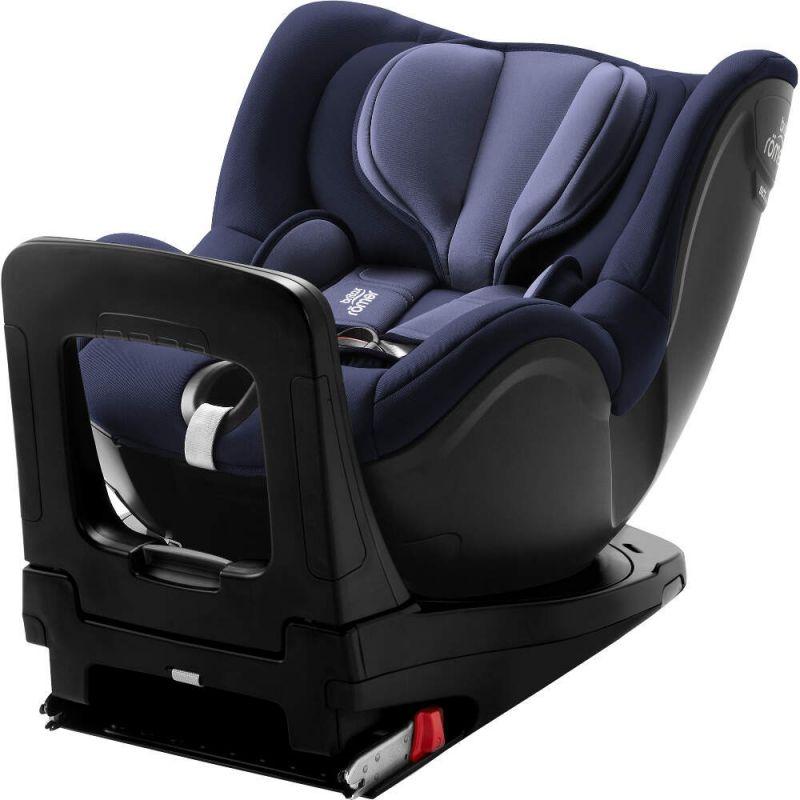 Britax Dualfix I-Size Group 0+/1 Car Seat-Moonlight Blue
