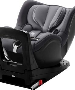 Britax Dualfix I-Size Group 0+/1 Car Seat-Storm Grey