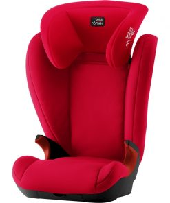 Britax Kidfix II Black Series Group 2/3 Car Seat-Fire Red (New)