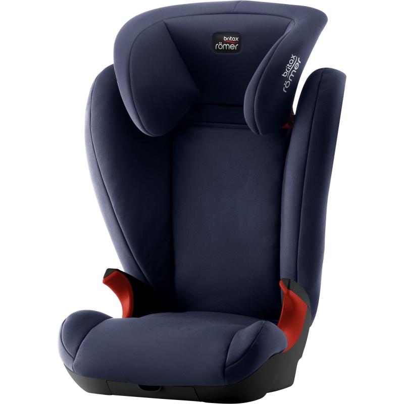 Britax Kidfix II Black Series Group 2/3 Car Seat-Moonlight Blue (New)