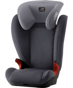 Britax Kidfix II Black Series Group 2/3 Car Seat-Storm Grey (New)