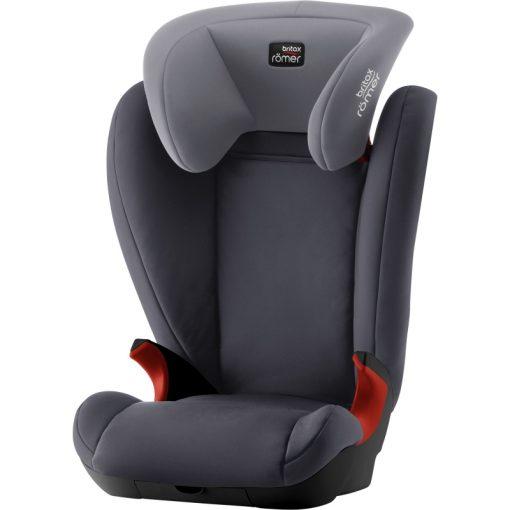 Britax Kidfix II Black Series Group 2/3 Car Seat-Storm Grey (New)