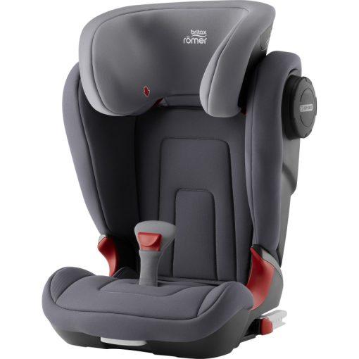 Britax Kidfix II S Group 2/3 Car Seat-Storm Grey (New)