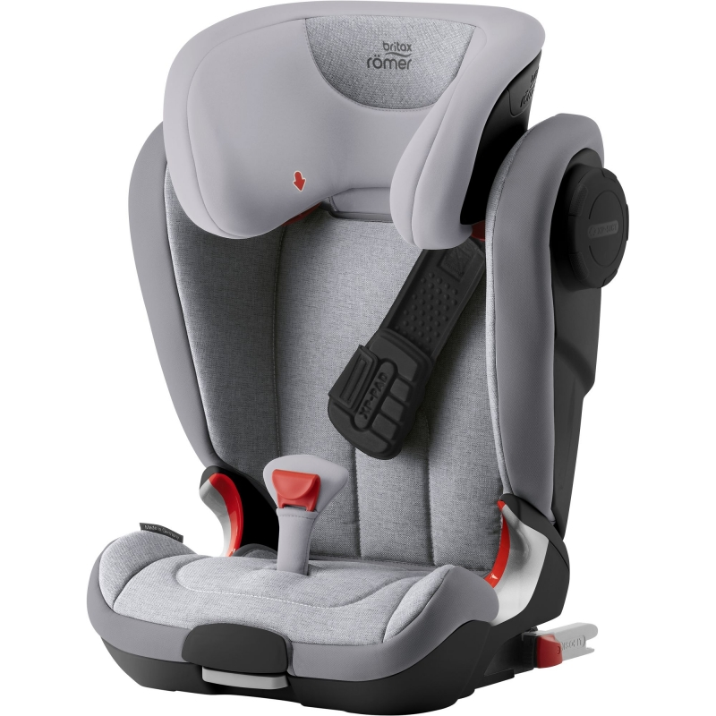 Britax Kidfix II XP SICT Black Series Group 2/3 Car Seat-Grey Marble (New)