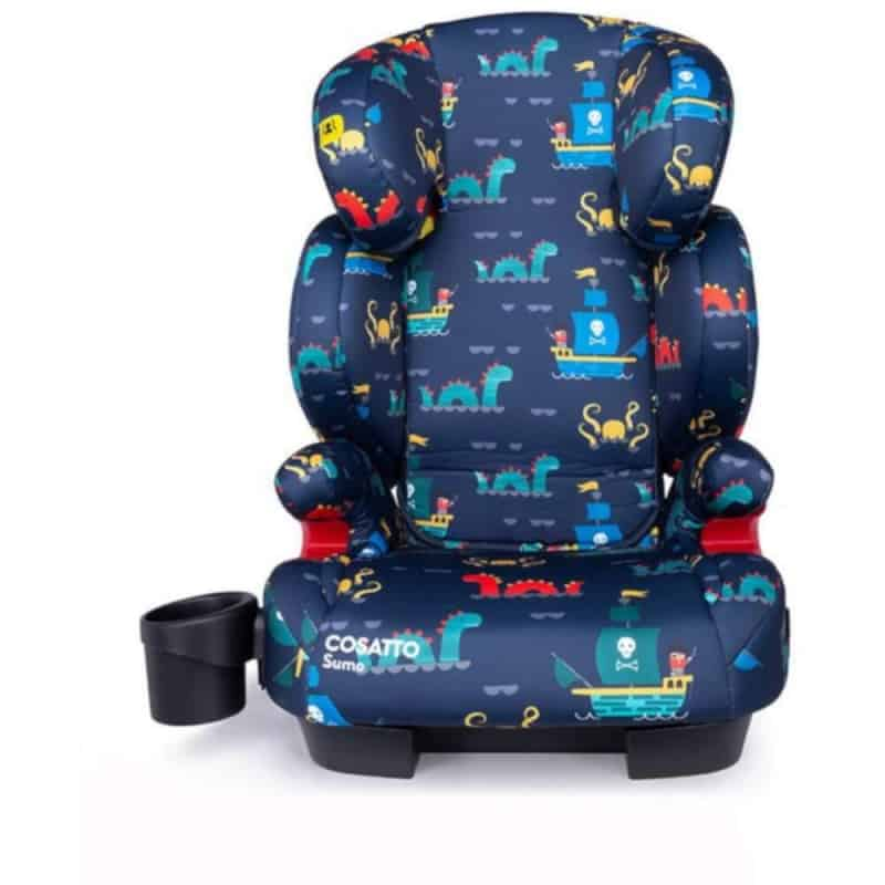 Cosatto Sumo Group 2/3 Isofit Car Seat-Sea Monster