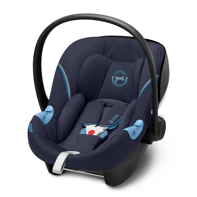Cybex Aton M I-Size Group 0+ Car Seat-Navy Blue (New 2020)