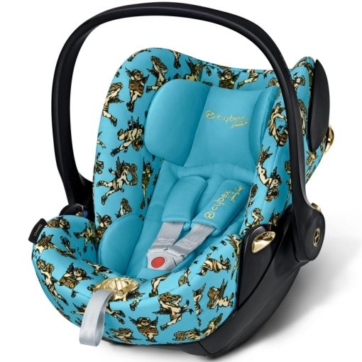 Cybex Cloud Q Cherub Group 0+ Car Seat-Blue