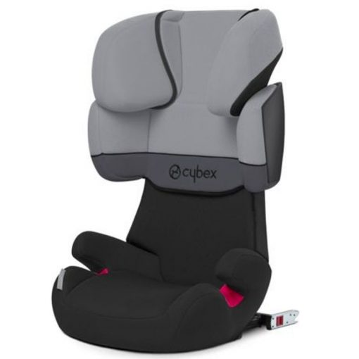 Cybex Solution X-Fix Group 2/3 Car Seat-Cobblestone Grey (New 2020)
