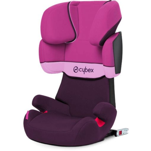 Cybex Solution X-Fix Group 2/3 Car Seat-Purple Rain (New 2020)
