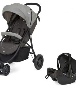 Joie Litetrax 3-Wheel Travel System-Dark Pewter (New 2018)
