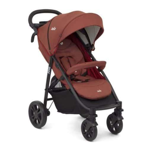 Joie Litetrax 4 Wheel Stroller- Cinnamon (New 2020)