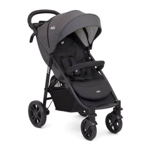 Joie Litetrax 4 Wheel Stroller- Coal (New 2020)