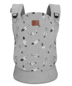 Kinderkraft Milo Baby Carrier-Grey