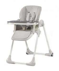 Kinderkraft Yummy High Baby Feeding Chair-Grey