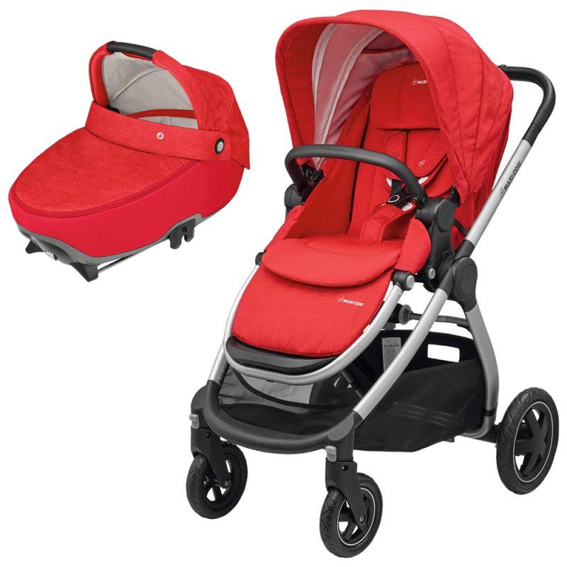 Maxi Cosi Adorra 2in1 Jade Pram System-Nomad Red