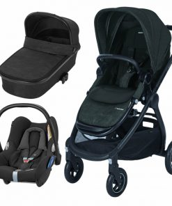 Maxi Cosi Adorra 3in1 Cabriofix Travel System-Nomad Black (NEW 2018)