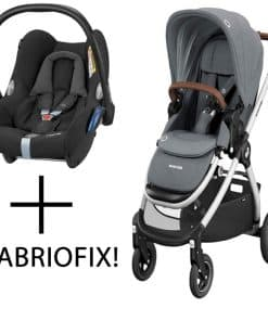 Maxi Cosi Adorra Stroller-Essential Grey (NEW 2020)