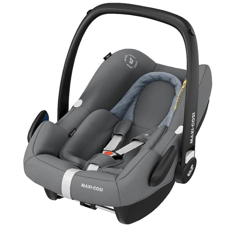 Maxi Cosi Rock I-SIZE Group 0+ Car Seat-Essential Grey