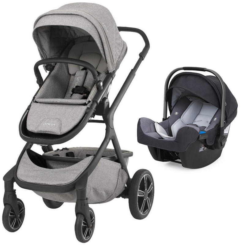Nuna Demi Grow 2in1 Travel System-Frost (New 2018)