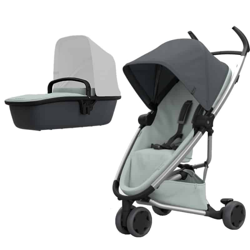 Quinny Zapp Flex 2in1 Pram System-Graphite on Grey (NEW 2019)