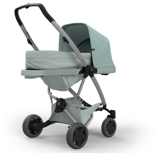 Quinny Zapp Flex Plus 2in1 (Cocoon) Pram System-Frost on Grey (NEW 2019)