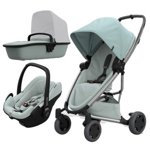 Quinny Zapp Flex Plus 3in1 Travel System-Frost on Grey (NEW 2019)