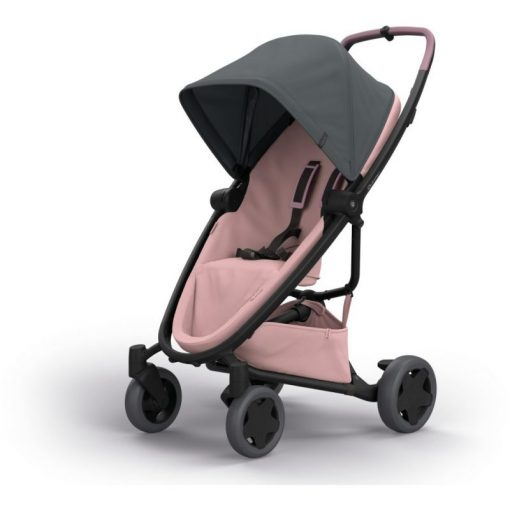 Quinny Zapp Flex Plus Stroller-Graphite on Blush (NEW 2019)
