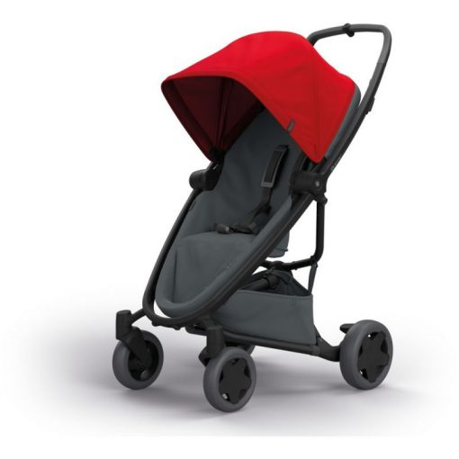 Quinny Zapp Flex Plus Stroller-Red on Graphite (NEW 2019)