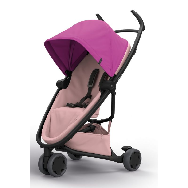 Quinny Zapp Flex Stroller-Pink on Blush