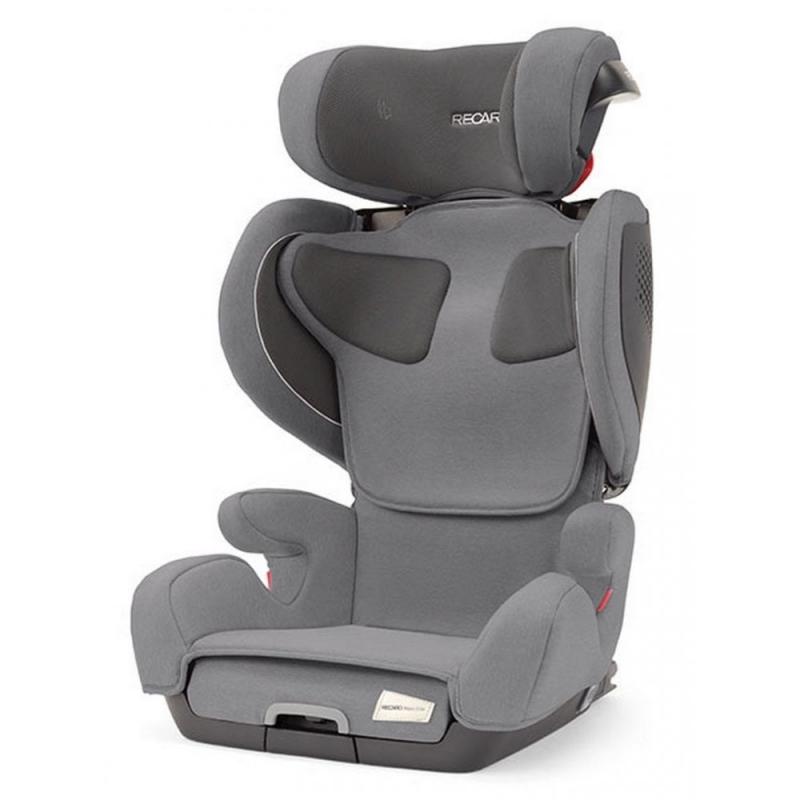 Recaro Mako Elite Group 2/3 I-Size Car Seat-Silent Grey (NEW)