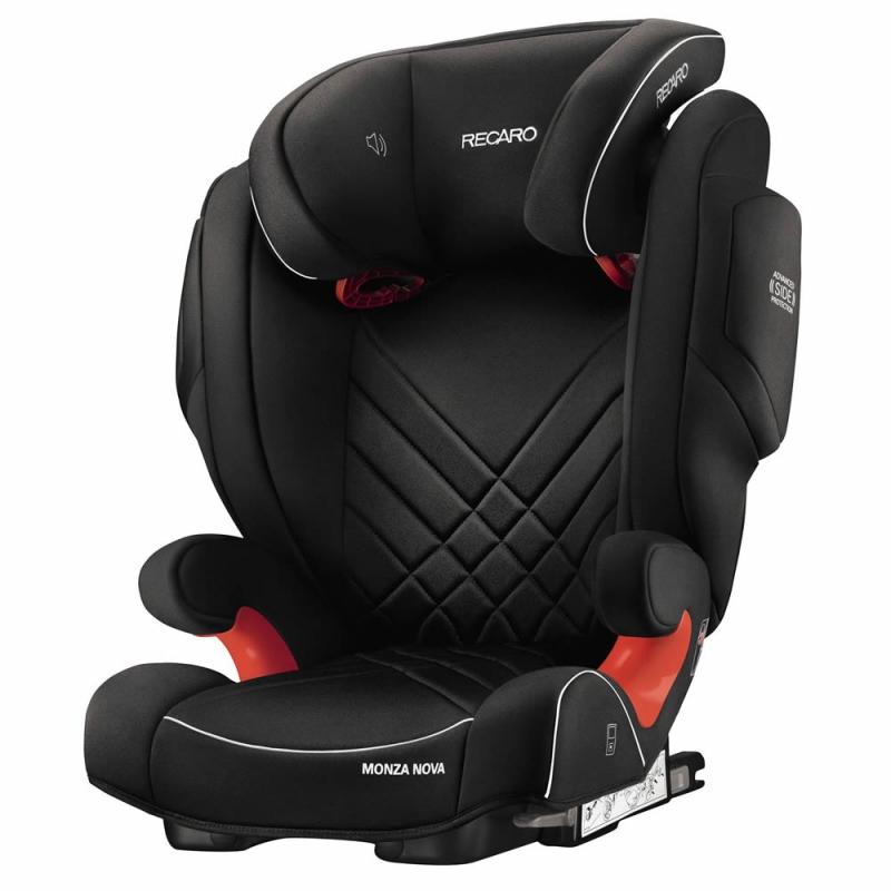 Recaro Monza Nova 2 Group 2/3 Car Seat-Performance Black (New 2020)