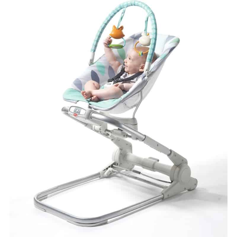 Tiny Love Close to Me Bouncer-Grey/Turquoise (NEW 2019)