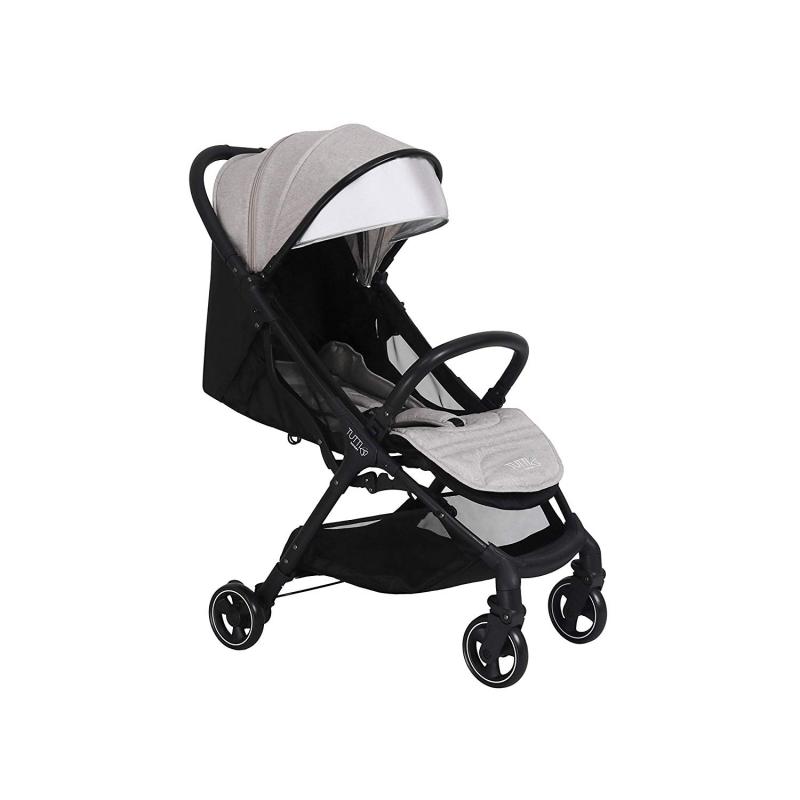Tutti Bambini Momi From Birth Stroller-Black/Charcoal