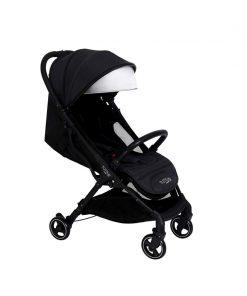Tutti Bambini Momi From Birth Stroller-Black/Liquorice