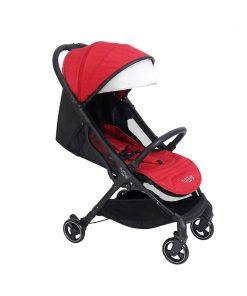 Tutti Bambini Momi From Birth Stroller-Black/Poppy