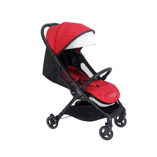 Tutti Bambini Momi From Birth Stroller-Black/Poppy