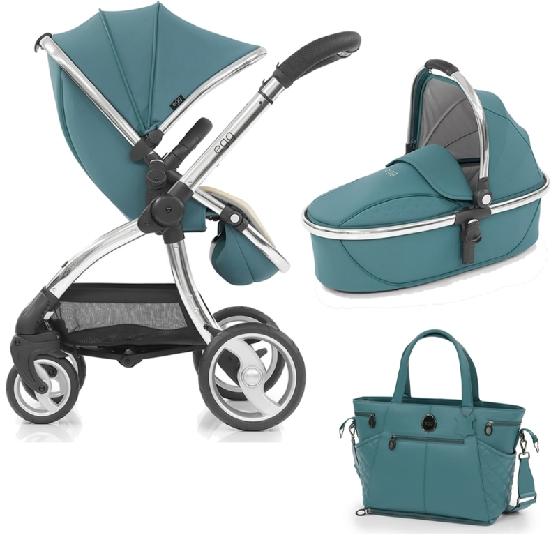 egg® Special Edition Stroller-Cool Mist + Free Carrycot!