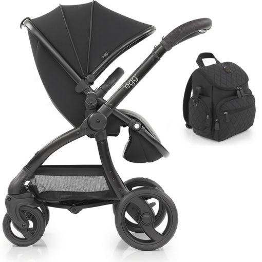 egg® Special Edition Stroller-Just Black (New 2019)