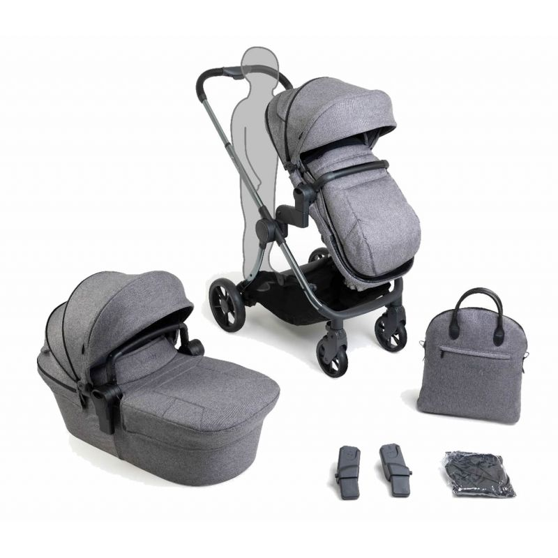 iCandy Lime Lifestyle Pushchair-Phantom/Charcoal (2020)